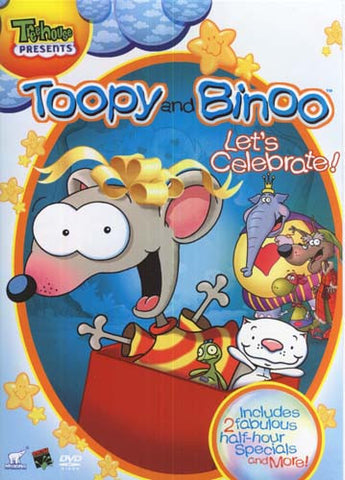 Toopy and binoo - Let's Celebrate DVD Movie