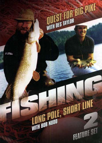 Fishing - Quest for Big Pike - Long Pole - Short Line - Feature Set - 2 DVD Movie