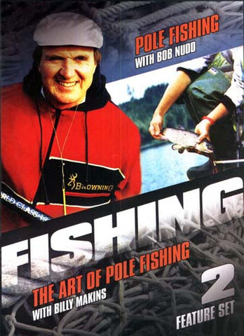 Fishing - Pole Fishing - The Art of Pole Fishing - feature Set - 2 DVD Movie