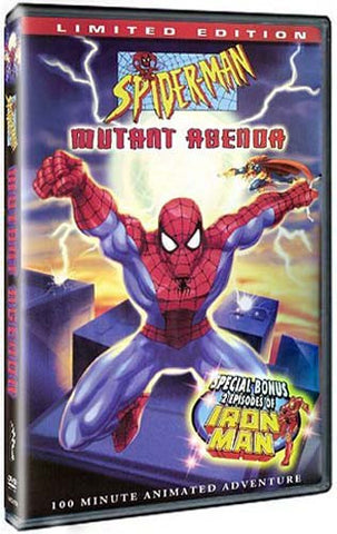 Spider Man - Mutant Agenda (Limited Edition) DVD Movie