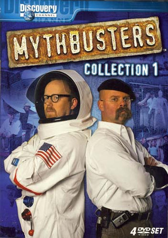 Mythbusters - Collection 1 DVD Movie