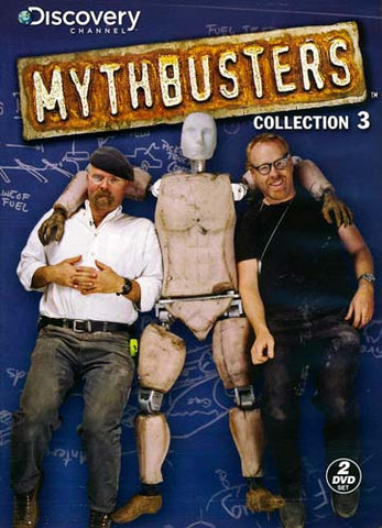 Mythbusters - Collection 3 DVD Movie