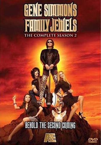 Gene Simmons Family Jewels - Complete Season Two (Boxset) DVD Movie
