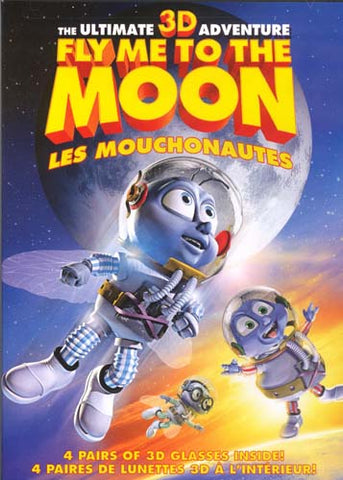 Fly Me to the Moon (3D Version) DVD Movie