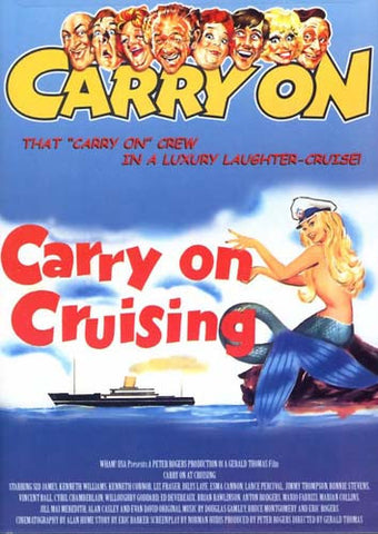 Carry on Cruising DVD Movie
