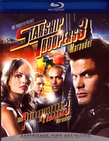 Starship Troopers 3: Marauder (Blu-Ray) BLU-RAY Movie