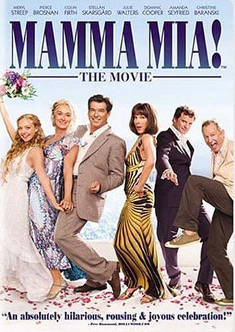 Mamma Mia! The Movie (Full Screen) DVD Movie