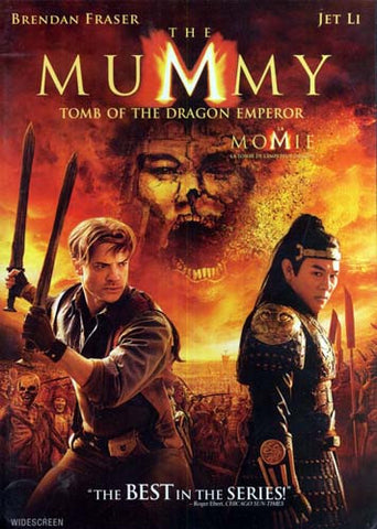 The Mummy - Tomb of the Dragon Emperor (Widescreen) (Bilingual) DVD Movie