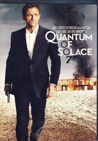 Quantum of Solace (James Bond) DVD Movie