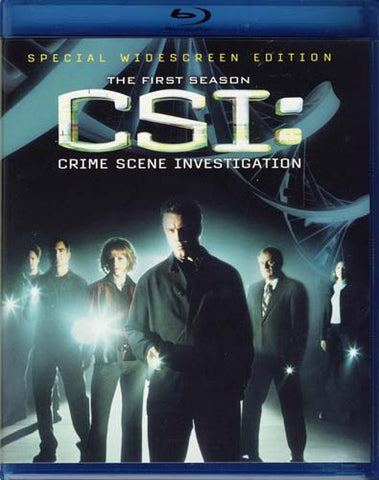 CSI - Crime Scene Investigation - The Complete First Season (Blu-ray) BLU-RAY Movie