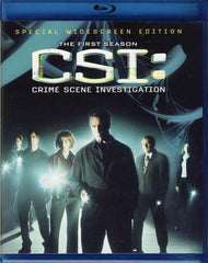 CSI - Crime Scene Investigation - The Complete First Season (Blu-ray)