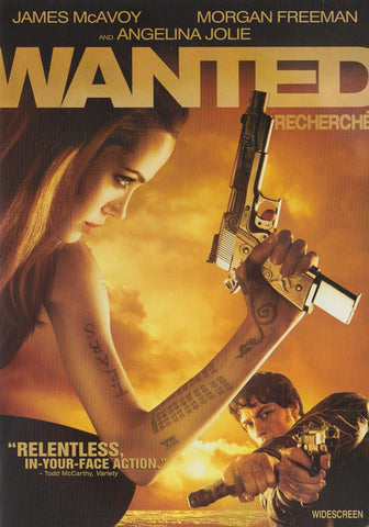 Wanted (Bilingual) DVD Movie