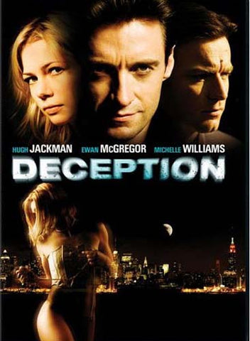 Deception (Ewan McGregor) DVD Movie