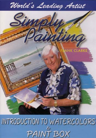 Simply Painting: Introduction to Watercolors and Paint Box DVD Movie