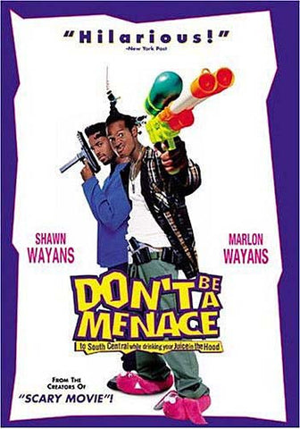 Don t Be a Menace to South Central While Drinking Your Juice in The Hood (Miramax) DVD Movie