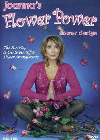 Joanna's Flower Power - Flower Design DVD Movie