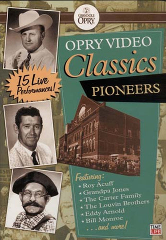 Opry Video Classics - Pioneers DVD Movie