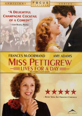 Miss Pettigrew Lives For A Day (Widescreen & Full Screen Edition)(Bilingual) DVD Movie
