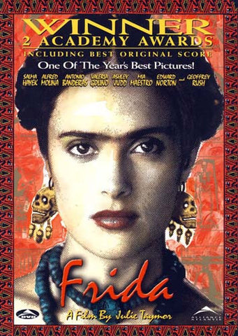 Frida (Bilingual) (2 Academy Awards Winner Cover) DVD Movie