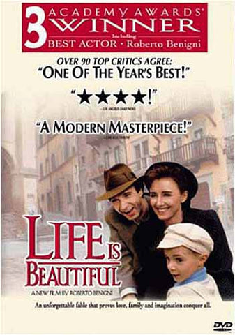Life Is Beautiful(Bilingual) DVD Movie
