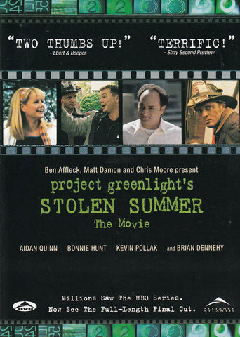 Project Greenlight's - Stolen Summer - The Movie DVD Movie