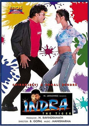 Indra: The Tiger (Original Hindi Movie) DVD Movie