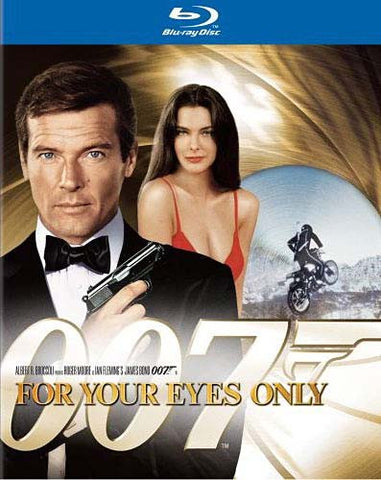 For Your Eyes Only (Blu-ray) (James Bond) BLU-RAY Movie