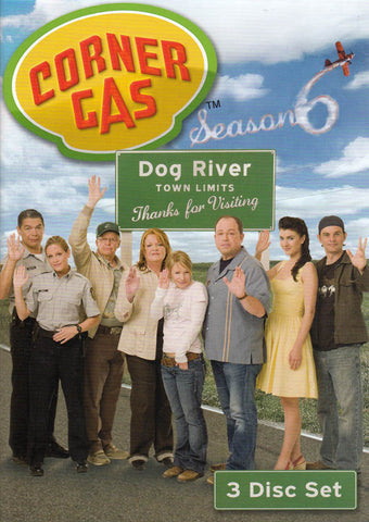 Corner Gas - Season 6 DVD Movie