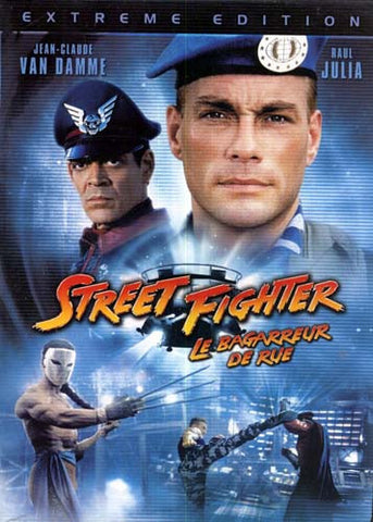 Street Fighter (Extreme Edition) (Jean-Claude Van Damme) DVD Movie