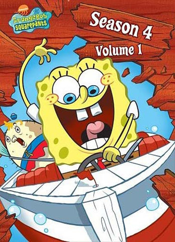 SpongeBob SquarePants - Season 4 - Vol. 1 DVD Movie