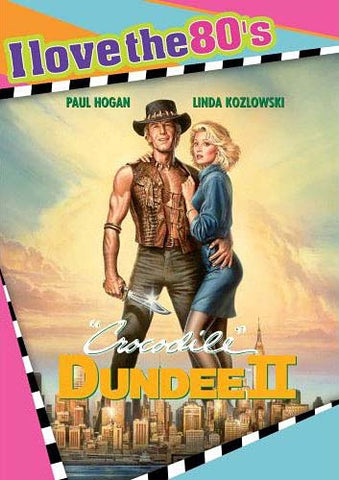 Crocodile Dundee II (I Love The 80's) DVD Movie