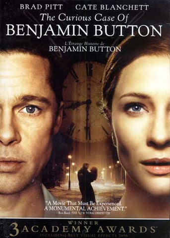 The Curious Case of Benjamin Button (Bilingual) DVD Movie