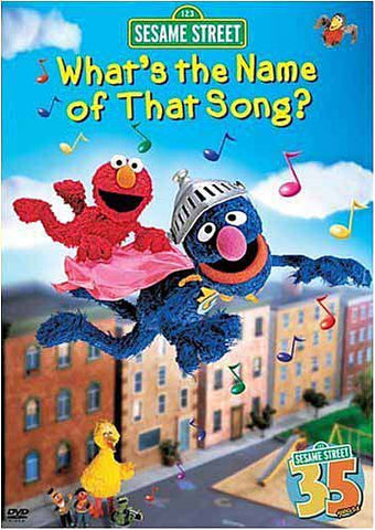 What's the Name of That Song - Sesame Street DVD Movie