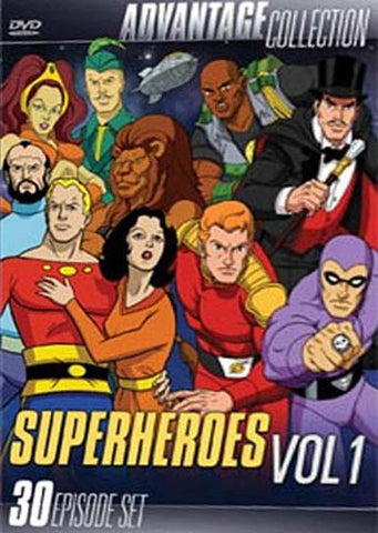 Advantage Collection - Super Heroes Vol. 1 - (30 Episode Set) (Boxset) DVD Movie