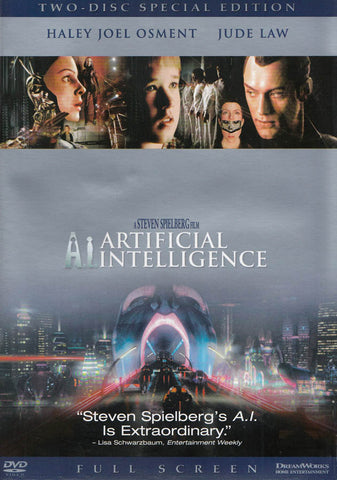 A.I. - Artificial Intelligence (Full Screen Two-Disc Special Edition) DVD Movie