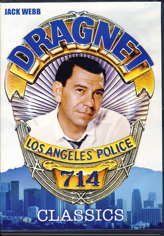 Dragnet - Los Angeles Police TV Classics - 7 Episodes DVD Movie