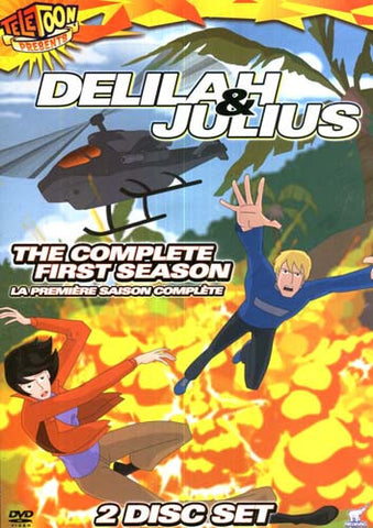 Delilah and Julius - The Complete First Season (Boxset) (Bilingual) DVD Movie