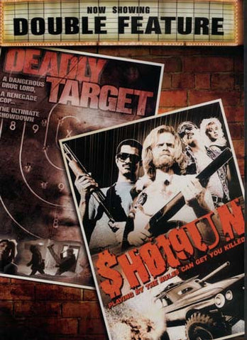 Deadly Target/Shotgun - Double Feature DVD Movie