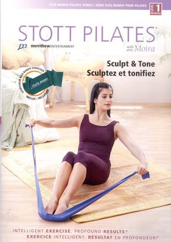 Stott Pilates - Sculpt and Tone With Exerciser Flex-Band (Boxset) DVD Movie