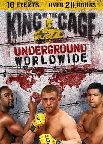 King of the Cage - Underground Worldwide (Boxset) DVD Movie