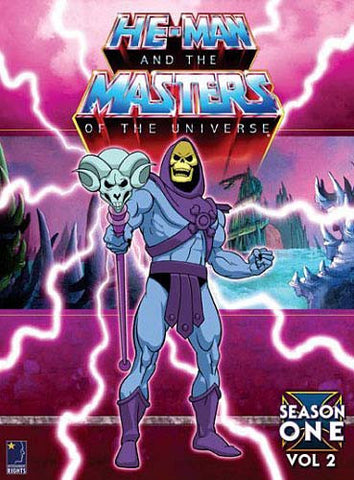 He-Man and The Masters of the Universe - Season 1. Vol 2. (Boxset) DVD Movie