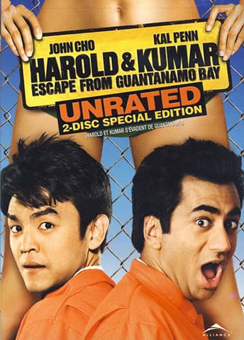 Harold and Kumar Escape From Guantanamo Bay (Unrated Two-Disc Special Edition) DVD Movie