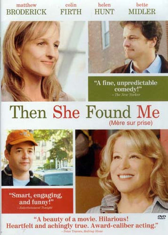 Then She Found Me(Bilingual) DVD Movie