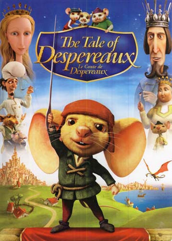 The Tale of Despereaux (Bilingual) DVD Movie