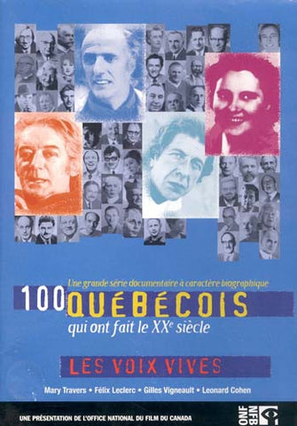 100 Quebecois - Les Voix Vives DVD Movie