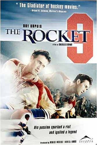 The Rocket (Maurice Richard) (Bilingual) DVD Movie
