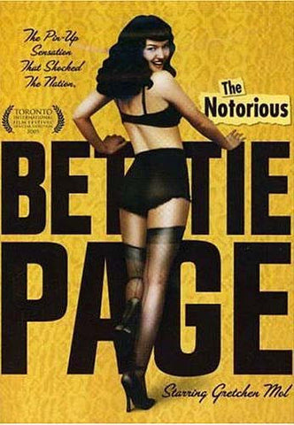The Notorious Bettie Page DVD Movie