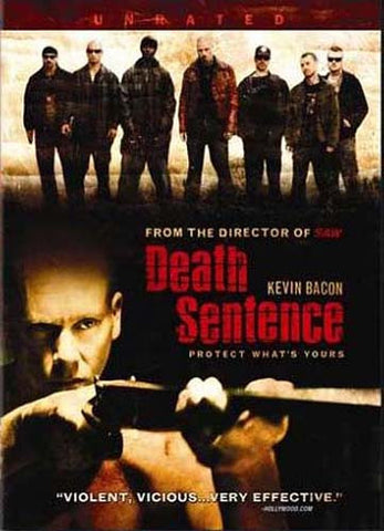 Death Sentence (Rated and Unrated Edition) DVD Movie