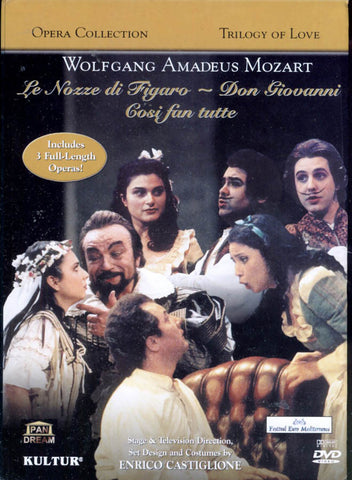 Trilogy Of Love - Le Nozze Di Figaro/Don Giovanni/Cosi Fan Tutte (Boxset) DVD Movie