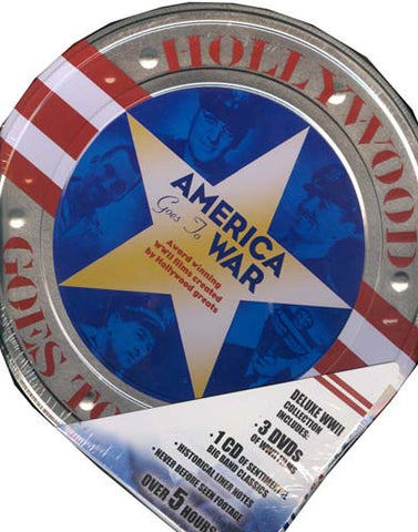 Hollywood Goes To War - America Goes To War (Tin) (Boxset) DVD Movie